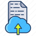 cloud, file, upload