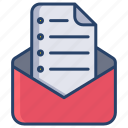 email, test, paper