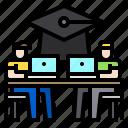 education, elearning, laptop, online