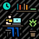 avatar, education, laptop, learning, man