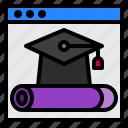 education, graduate, online, website
