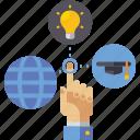education, internet, network, virtual