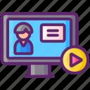 live, video, webinar