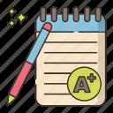 achievement, best, grade icon