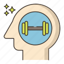 brain, mind, training icon