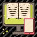 e, education, learning icon