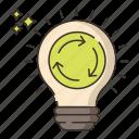 bulb, exchange, ideas