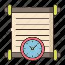 clock, history, timepiece icon