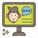 live, video, webinar icon