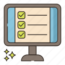 internet, online, tests, web icon