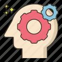brain, capability, potential icon