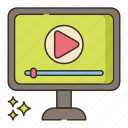 media, tutorial, video icon