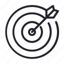 arrow, challenge, contest, shooting, target icon