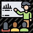 conference, instructor, presentation, training, tutorial