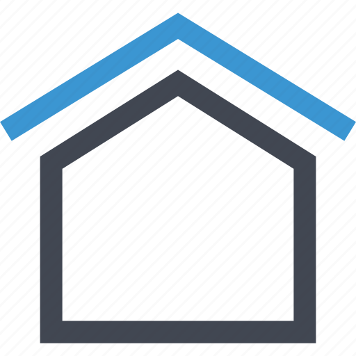 home, house, online, roof, top icon
