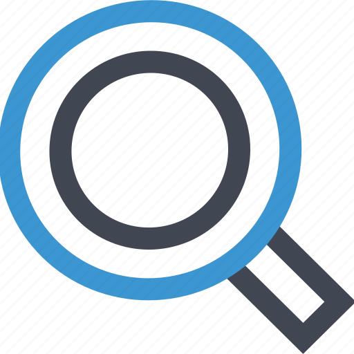 find, glass, look, magnifying, search icon