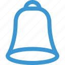 bell, online, schedule, school icon
