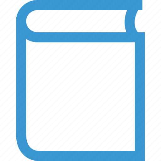 book, learn, online, school icon