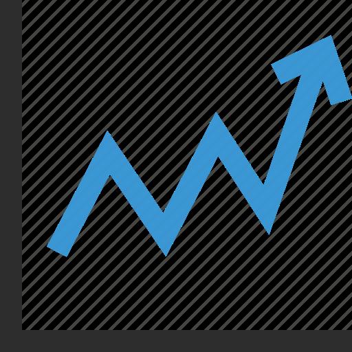 graph, online, school icon
