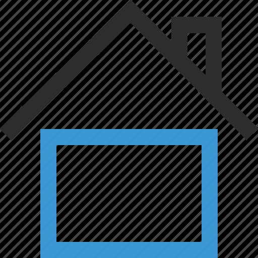 home, house, online, school icon