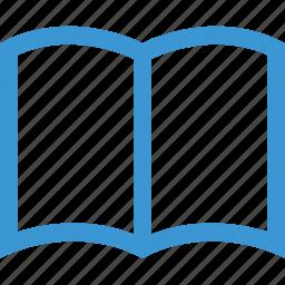 book, online, open, school icon