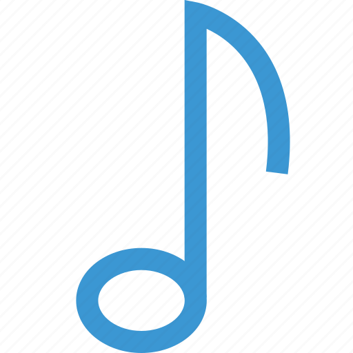 music, note, online, school, song icon