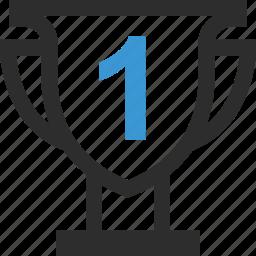 online, school, top, trophy icon