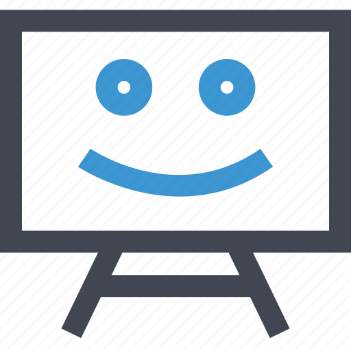 board, education, learn, learning, smile icon