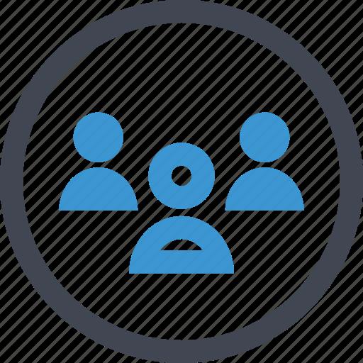 boss, staff, students, teacher, three, user icon