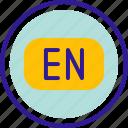 en, english, language, translation icon