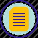 document, extension, file, format, paper