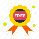 badge, free, offer icon