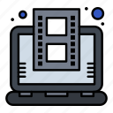 learning, video, tutorials, study, education icon