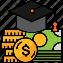 budget, tuition, debt, graduation, loan, money, courses, student