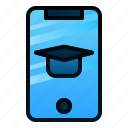 application, course, education, learning, online, phone, study