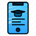 application, course, education, learning, online, phone, web