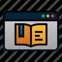 blog, book, course, digital, ebook, learning, literature