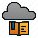 book, cloud, digital, education, library, literature, school