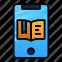 app, book, ebook, education, mobile, online, study