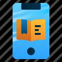 app, book, course, ebook, education, mobile, study