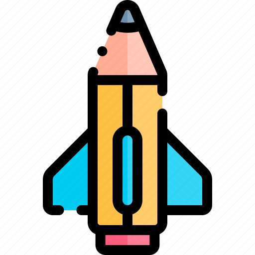e-learning, education, learning, online, pencil icon