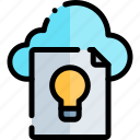 e-learning, education, idea, learning, online icon
