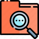 e-learning, education, file, folder, learning, online icon
