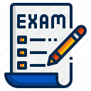 test, checklist, online learning, education, online, exam
