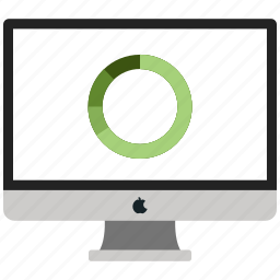 business, business report, chart, online chart icon