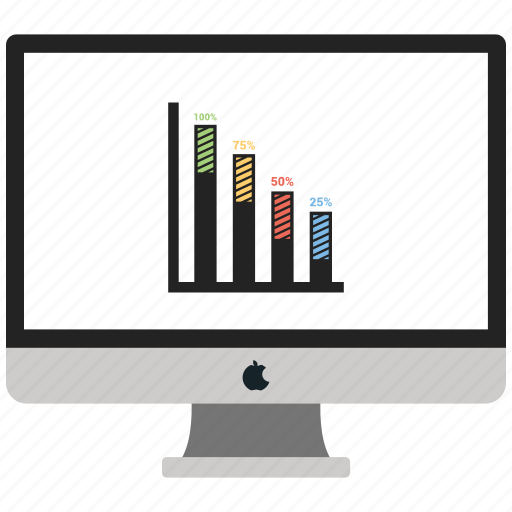 business, chart, online icon