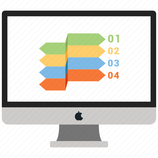 Business, graph, monitor, report icon - Download on Iconfinder