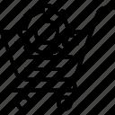 cart, cog, optimise, optimization icon