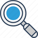 browse, find, found, magnifier, magnify icon