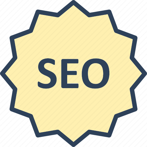 badge, label, ranking, seo icon